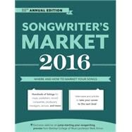 Songwriter's Market 2016 by Freese, Cris; Williams, Andrea, 9781599639390