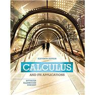 Calculus And Its Applications by Bittinger, Marvin L.; Ellenbogen, David J.; Surgent, Scott J., 9780321979391