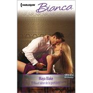 El dulce sabor de lo prohibido (The Sweet Taste of Forbidden) by Blake, Maya, 9780373519392