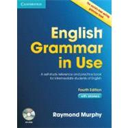 English Grammar in Use with Answers and CD-ROM: A Self-Study Reference and Practice Book for Intermediate Students of English by Raymond Murphy, 9780521189392