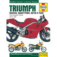 Triumph Daytona, Speed Triple, Sprint & Tiger 885/955cc '97 to '05 by Coombs, Matthew; Mather, Phil, 9780857339393