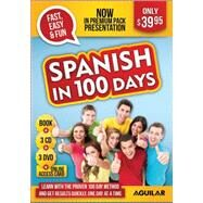 Spanish in 100 Days Premium Pack by Aguilar, 9781941999400