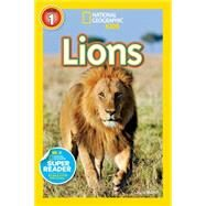 National Geographic Readers: Lions by Marsh, Laura, 9781426319402