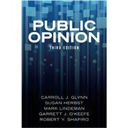 Public Opinion by Glynn,Carroll J., 9780813349404