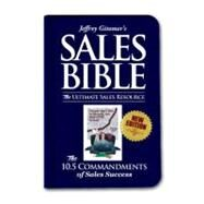 Jeffrey Gitomer's Sales Bible: The Ultimate Sales Resource by Gitomer, Jeffrey, 9780061379406
