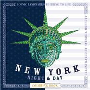 New York Night & Day Coloring Book by Moffett, Patricia, 9781438009407