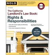 California Landlord's Law Book Vol. 1 : Rights and Responsibilities by Brown, David Wayne, 9781413309409