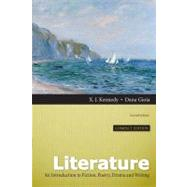 Literature An Introduction to Fiction, Poetry, Drama, and Writing, Compact Edition by Kennedy, X. J.; Gioia, Dana, 9780205229413