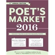 Poet's Market 2016 by Brewer, Robert Lee, 9781599639413
