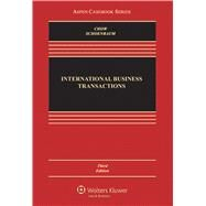International Business Transactions Problems, Cases, and Materials by Chow, Daniel C.K., 9781454849414