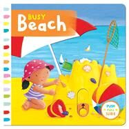Busy Beach by Finn, Rebecca, 9781454919414