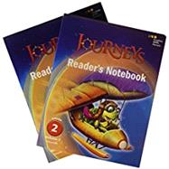 JOURNEYS READER'S NOTEBOOK CONSUMABLE COLLECTION GRADE 2 by Houghton Mifflin Harcourt, 9780544619418