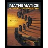 Mathematics A Discrete Introduction by Scheinerman, Edward A., 9780840049421