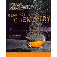 Experiments in General Chemistry, Lab Manual by Wentworth, Rupert; Munk, Barbara H., 9781111989422