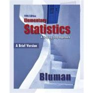Elementary Statistics, A Brief Version 5th Edition by Bluman, Allan, 9780077359423