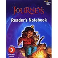 JOURNEYS READER'S NOTEBOOK CONSUMABLE COLLECTION GRADE 3 by Houghton Mifflin Harcourt, 9780544619425