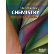 Introductory Chemistry by Zumdahl/Decoste, 9781337399425