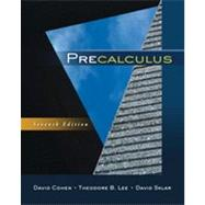 Precalculus by Cohen, David; Lee, Theodore B.; Sklar, David, 9780840069429