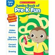 Jumbo Book of Pre-k Fun by Scholastic Teaching Resources, 9781338169430