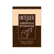 Integer and Combinatorial Optimization by Wolsey, Laurence A.; Nemhauser, George L., 9780471359432