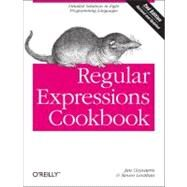Regular Expressions Cookbook by Levithan, Steven; Goyvaerts, Jan, 9781449319434