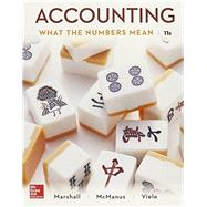 Accounting: What the Numbers Mean with Connect Access Card by Marshall, David, 9781259909436