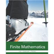 Finite Mathematics by Lial, Margaret L.; Greenwell, Raymond N.; Ritchey, Nathan P., 9780321979438