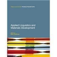 Applied Linguistics and Materials Development by Tomlinson, Brian, 9781441109439