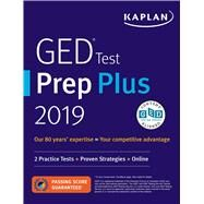 Ged Test Prep Plus 2019 by Van Slyke, Caren, 9781506239439