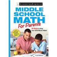 Middle School Math for Parents by Meltzer, Scott, 9781576859445