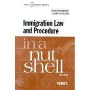 Immigration Law and Procedure in a Nutshell by Weissbrodt, David S.; Danielson, Laura, 9780314199447