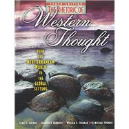 The Rhetoric of Western Thought: From the Mediterranean World to the Global Setting by BERQUIST, GOODWIN, 9780757579448