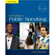 Cengage Advantage Series: Essentials of Public Speaking by Hamilton, 9781285159454