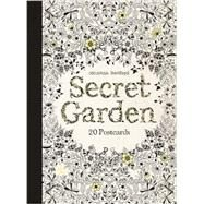 Secret Garden: 20 Postcards by Basford, Johanna, 9781856699464