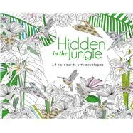 Hidden in the Jungle: 12 Note Cards with Envelopes by Lark Crafts, 9781454709466