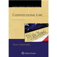 Aspen Student Treatise for Constitutional Law Principles and Policies by Chemerinsky, Erwin, 9781454849476