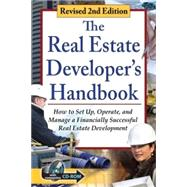 The Real Estate Developer's Handbook by Davis, Tanya, 9781601389480