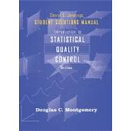 Student Solutions Manual to accompany Introduction to Statistical Quality Control, 6th Edition by Douglas C. Montgomery (Georgia Institute of Technology), 9780470449486