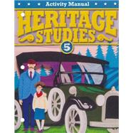 BJU Heritage Studies Grade 5 Student Activity Manual, Fourth Edition by BJU Press, 9781606829486