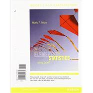 Elementary Statistics Using Excel, Books a la Carte Edition Plus NEW MyStatLab with Pearson eText -- Access Card Package by Triola, Mario F., 9780321869487