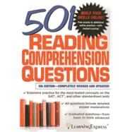 501 Reading Comprehension Questions by Learningexpress, 9781576859490