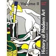 History of Modern Art Volume II by Arnason, H. H.; Mansfield, Elizabeth C., 9780205259496