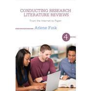 Conducting Research Literature Reviews by Fink, Arlene, 9781452259499