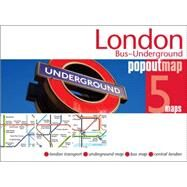London Bus Underground Popout Map by Compass Maps Ltd, 9781845879501