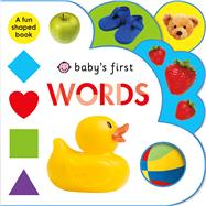 Baby's First Words by Priddy, Roger, 9780312519506
