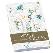 Write & Relax: Three Mini Journals by Unknown, 9781454709510