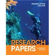 Research Papers by Coyle, William; Law, Joe, 9781111839512