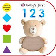 Baby's First 123 by Priddy, Roger, 9780312519513