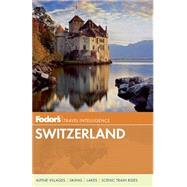 Fodor's Switzerland by FODOR'S, 9780891419518