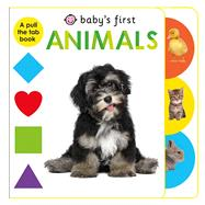 Baby's First Animals by Priddy, Roger, 9780312519520
